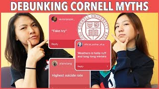 🔥DEBUNKING CORNELL MYTHS with Anna From Indiana! (Suicides, Fake Ivy, Depression) | Katie Tracy