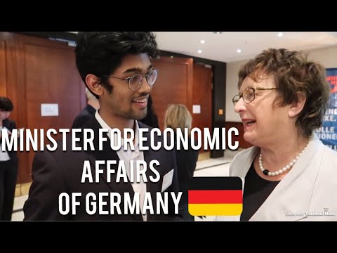 Interviewed: Minister for Economic Affairs and Energy of Germany