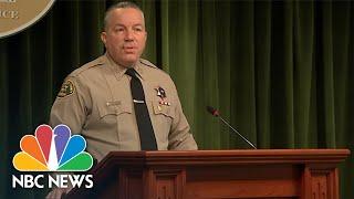 Los Angeles Authorities Say Speeding Was Cause Of Tiger Woods Crash | NBC News NOW