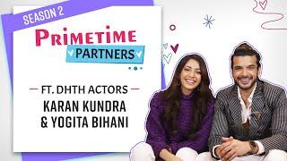 Dil Hi Toh Hai's Karan Kundrra & Yogita Bihani spill the beans, reveal who will get married FIRST