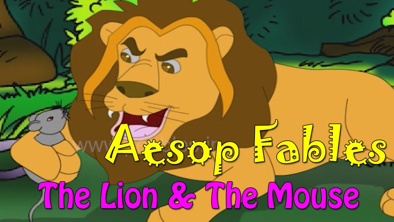 Lion and Mouse Story | Aesop Fables in English | Aesop English Stories For  Kids HD