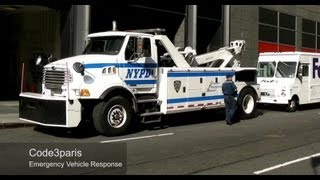 NYPD Police Tow Trucks / Recovery  (collection)