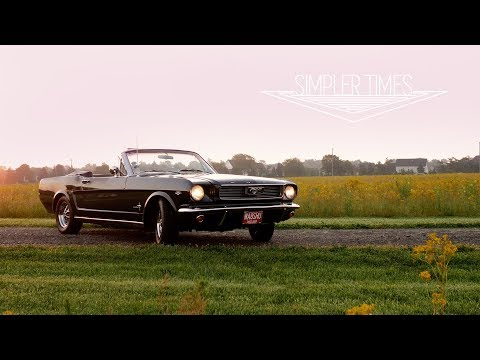 1966 Ford Mustang Convertible The Original Pony Car