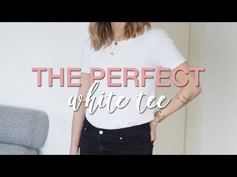 Finding the perfect (and sustainable) white t-shirt | My fav
