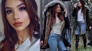 Get Ready With Me! Everyday Winter Outfit Idea! + Simple Makeup & Hair!