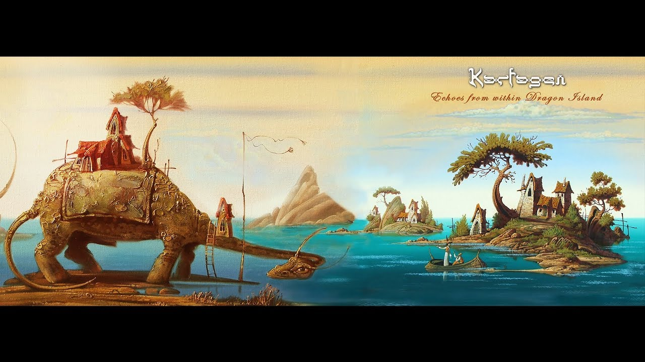 Download Karfagen - Echoes from within Dragon Island - [Full Album]
