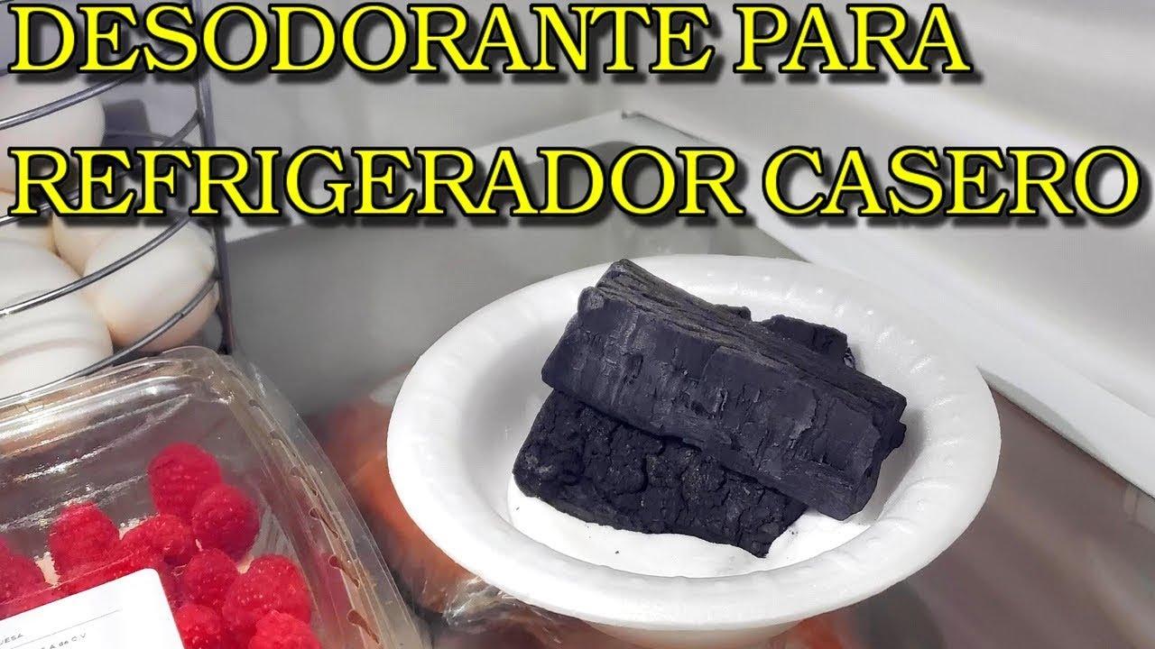 Desodorante Para Refrigerador Casero Receta Fácil Y Rápida Youtube