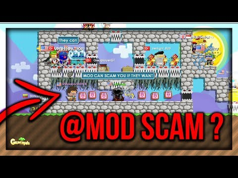 Growtopia - @MODERATORS SCAM ? (YES OR NO GAME) ! - 동영상