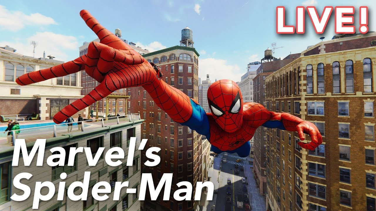 Marvel's Spider-Man (PS4) with Paul and Ethan   9/6/18