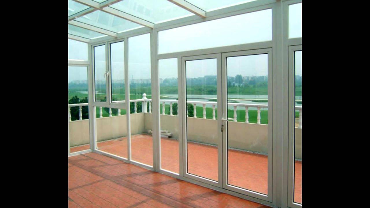 ventanas, puertas marquesinas en aluminio - YouTube