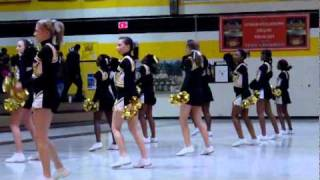 Aynor @ Dillon 1/28/11 - Dillon High Cheerleaders