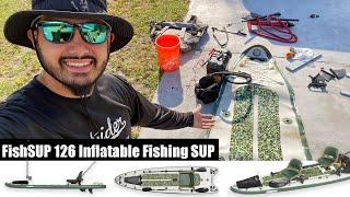 Setting up the Sea Eagle FishSUP 126 Inflatable Fishing SUP