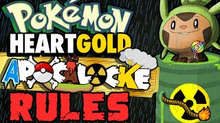 Pokemon APOCALOCKE Challenge RULES! - Chipmunk Gaming