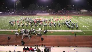 Poway Emerald Brigade at Vista 2013