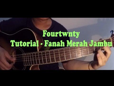 Tutorial Chord Gitar Fourtwnty - Fanah Merah Jambu