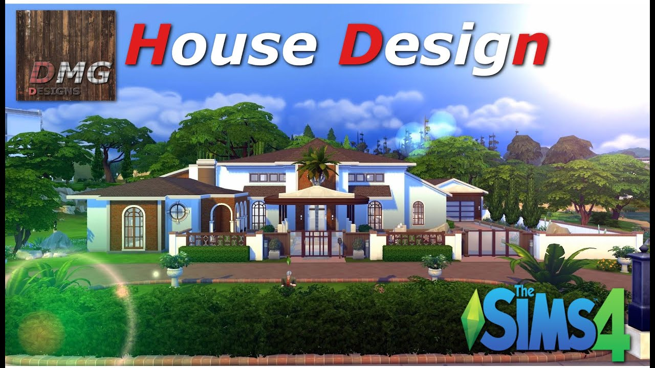 How To Design Your Own Home Plans The Sims 4 House Design Tour Forgotten Dream Spanish