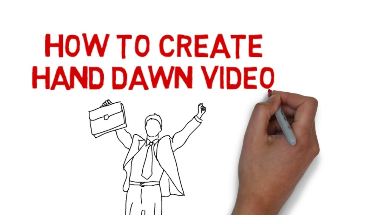 How to create drawing videos cartoon drawing videos for How to make creative drawings