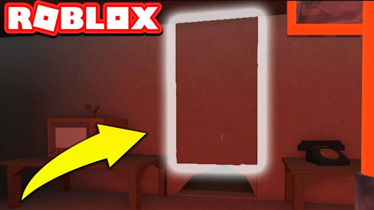 Breaking Down The Secret Wall Roblox Flee The Facility