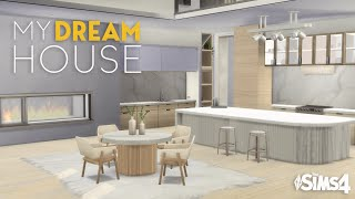 MY DREAM HOUSE   No CC   Gallery Art   The Sims 4 Stop Motion Build