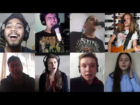 """Musicians From All Over The World Play """"Rockin' In The Free World"""" Together"""