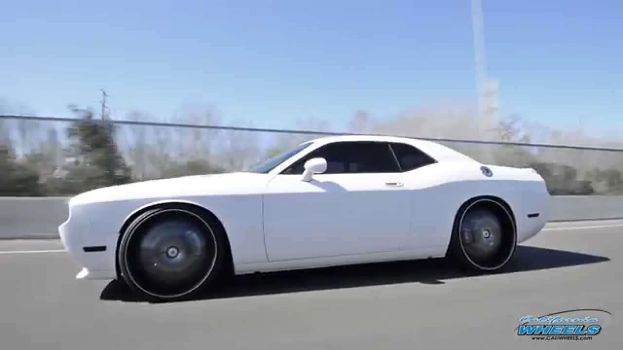 Dodge Challenger 24 Inch Rims >> Dodge Challenger on Lexani LSS-55 Wheels by California Wheels - YouTube
