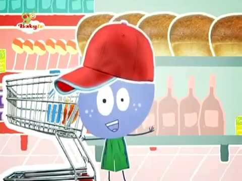BabyTV Stick with Mick in a supermarket english