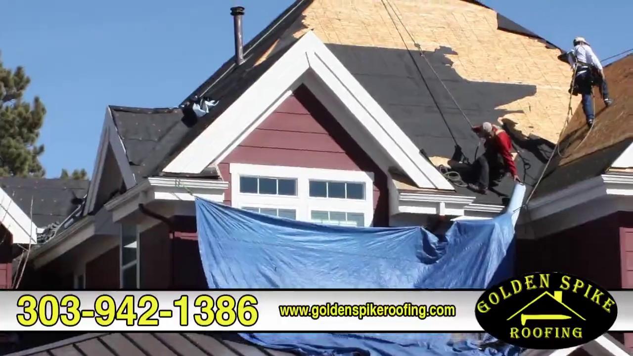 Golden Spike Roofing Asphalt Shingle Concrete