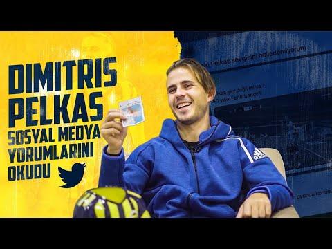 Dimitris Pelkas Sosyal Medya Yorumlarını Okudu 😀
