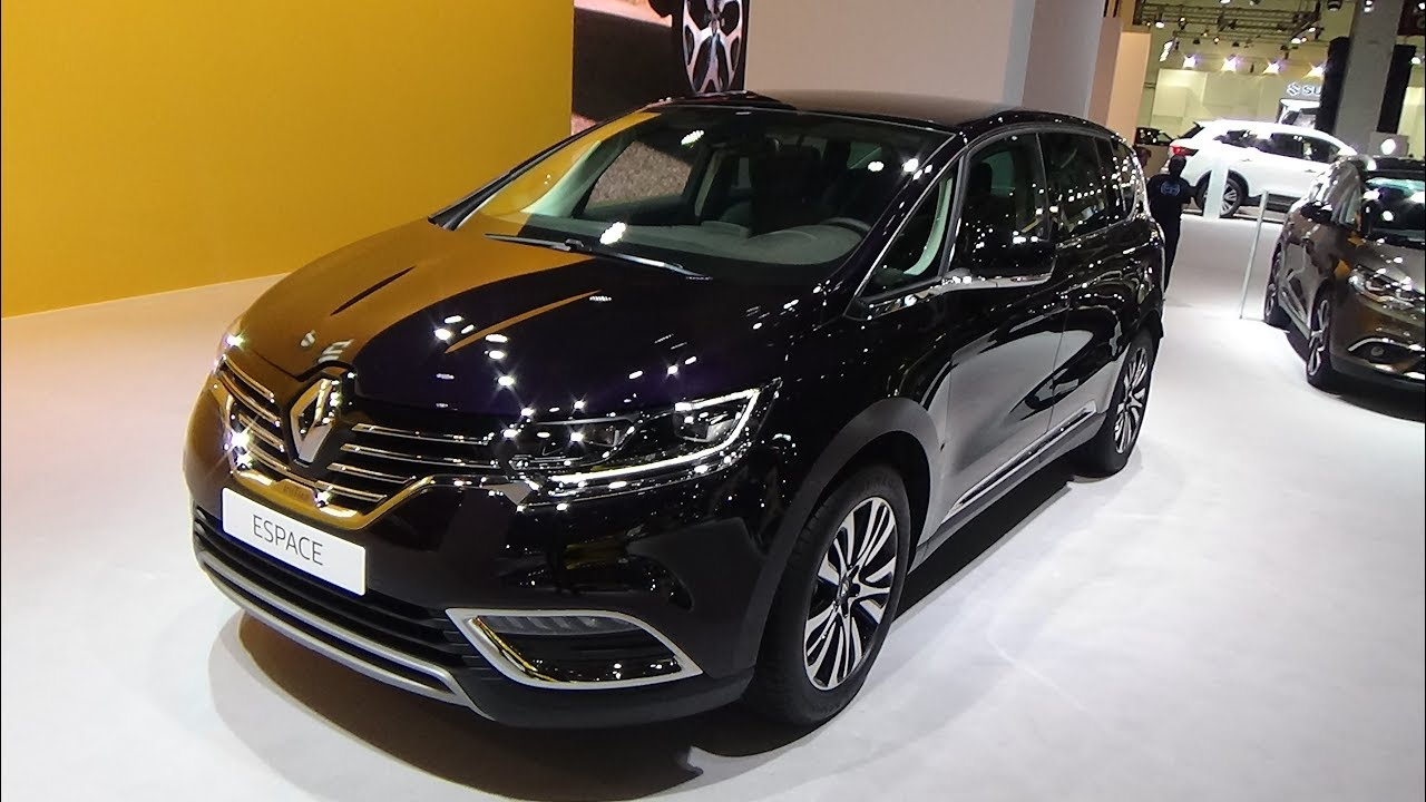 2017 renault espace initiale exterior and interior automobile barcelona 2017 youtube. Black Bedroom Furniture Sets. Home Design Ideas