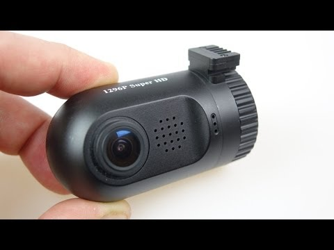 Mini 0803 - The Miniature Car Dash Cam with a screen