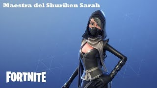 Shuriken Sarah's teacher / Shuriken teacher Fortnite: Saving the World #46