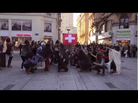 Lausanne Flashmob 2011 - Pepperdine University