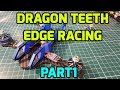 How to Build FPV Freestyle Quadcopter Part 1 // Dragon Teeth, Edge Racing, XSRF4O, DYS Aria