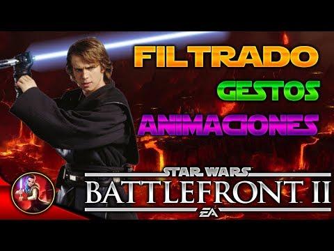 ANAKIN SKYWALKER FILTRADO: Animaciones,Gestos etc... - Noticias - EA - Star Wars Battlefront 2 thumbnail