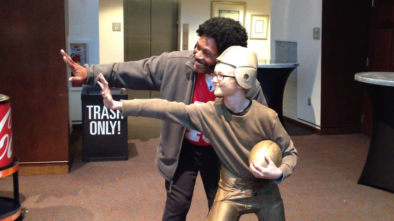 Heisman Trophy and Archie Griffin Costumes