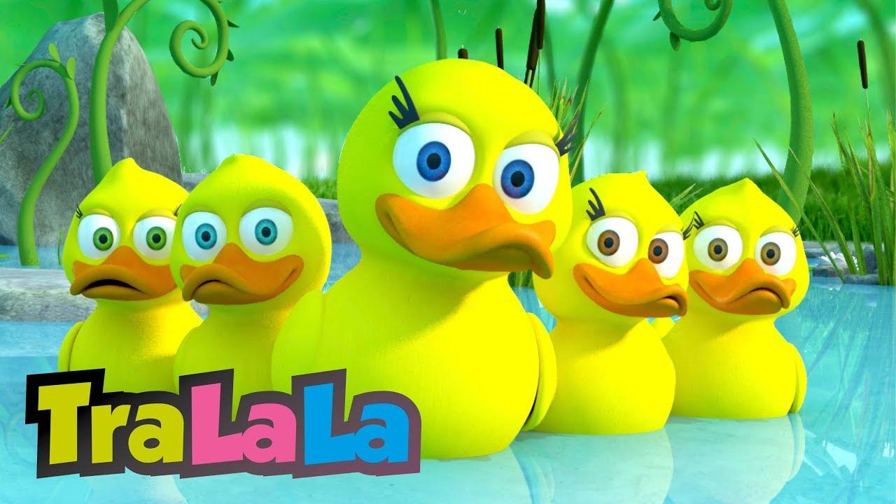 Ratustele mele pe apa s-au dus - Cantece pentru copii - TraLaLa
