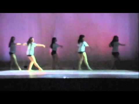 Dance Concert 2012 Jaws Theme Swimming