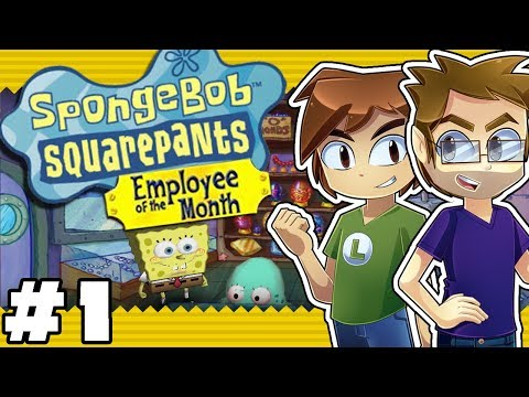 SpongeBob SquarePants: Employee of the Month: Jak & Lev - Part 1