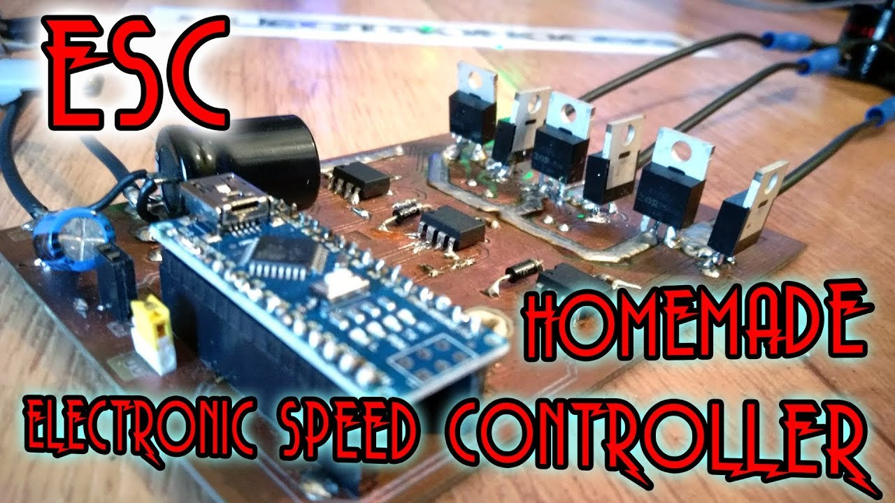 esc electronic speed controller with arduino all explained [ 1280 x 720 Pixel ]