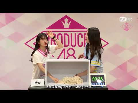[ENG SUB] PD48 48 Special - Hidden Box Mission   Takeuchi Miyu (AKB48) vs Kim Hyuna (Collazoo)