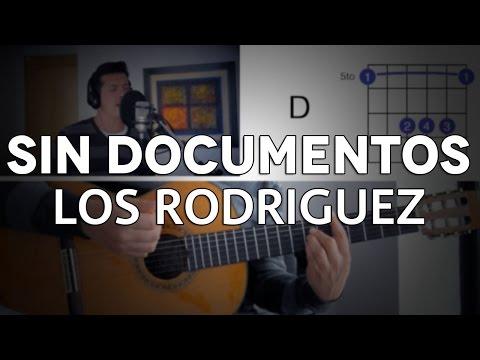 Sin Documentos Los Rodriguez Tutorial Cover - Guitarra [Mauro Martinez]