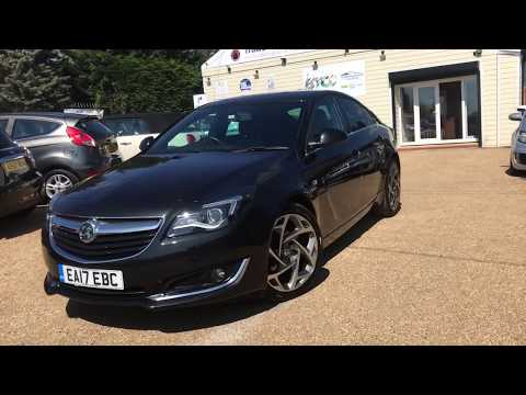 2017 VAUXHALL INSIGNIA 1.6 SRI VX-LINE CDTI S/S FOR SALE | CAR REVIEW VLOG