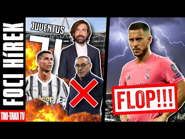 Így alakulhat át a Juve kerete Pirlo érkezésével! Kritikák kereszttüzébe került Hazard!
