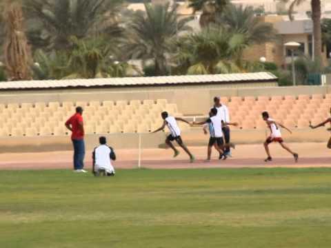 Iis Dammam 4x100 U 16 Relay Gold Jubail Cluster Meet