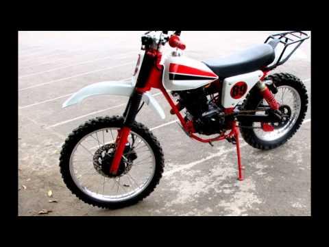 Video Modifikasi Motor Klasik Honda Cb Gelatik 125 Modif Trail Head Mega Pro