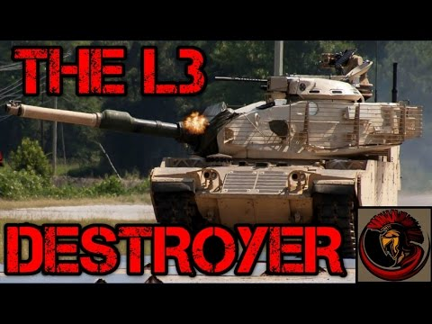 M60 Main Battle Tank - L3 Destroyer M60A3