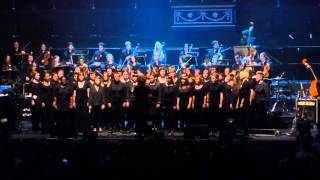 Voicething - the Lips Choir with Goldfrapp at the Royal Albert Hall