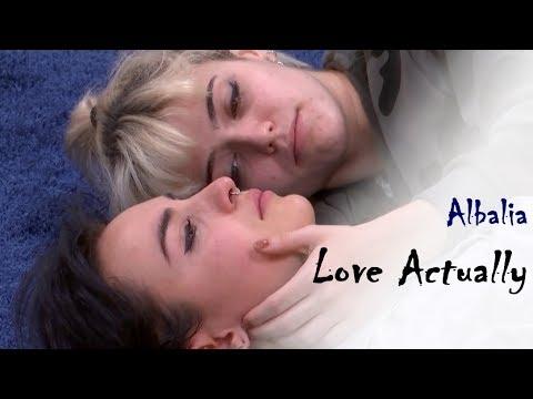 Albalia - Love Actually | Alba Reche y Natalia Lacunza | Natalba | OT 2018
