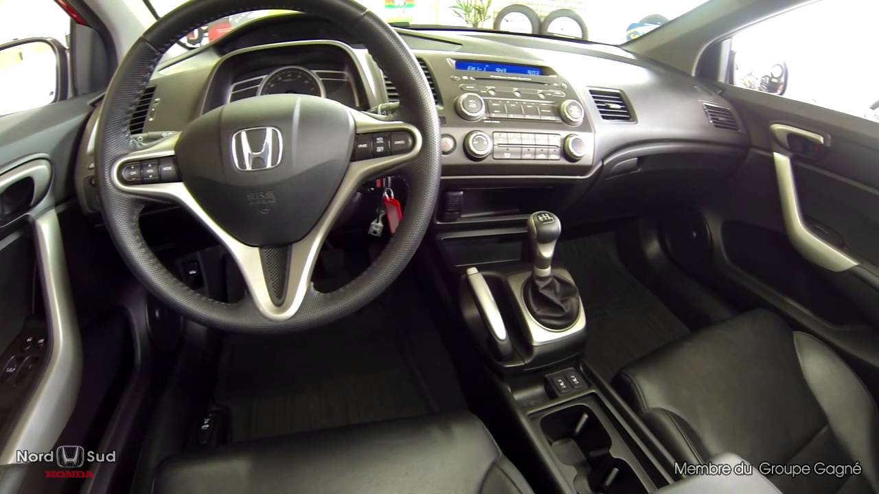 Lovely Honda Civic Coupe EX L 2009 13714A