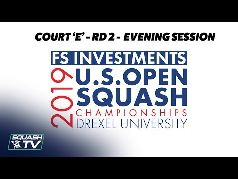 U.S. Open 2019 - Rd 2 Evening Session - Racquet Club Court E